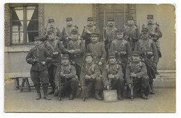 CARTE PHOTO Groupe De Militaires Du 138e Régiment... - Regimientos