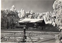 """ABBADIA SAN SALVATORE - Monte Amiata - M. 1734 S.m. - Bar Ristorante """"Vetta"""" Dopo Una Abbondante Nevicata - Andere Steden"""