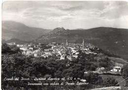 Castel Del Piano - Stazione Climatica Mt. 632 S.m. - Panorama Con Veduta Di Monte Laterone - Andere Steden
