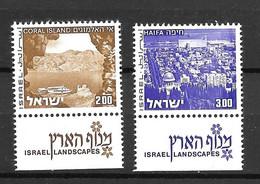 1974 - Israël Paysages   -YT 470 471 - MNH** - Neufs (avec Tabs)