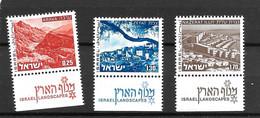 1974/1975 - Israël Paysages   - MNH** - Neufs (avec Tabs)