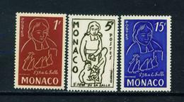 MONACO  -  1954 De La Salle Set Unmounted Never Hinged Mint - Unused Stamps