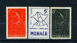 MONACO  -  1954 Ozanam Set Unmounted Never Hinged Mint - Unused Stamps