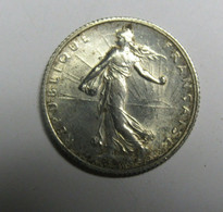 1 Franc Semeuse Argent 1916 - H. 1 Franco