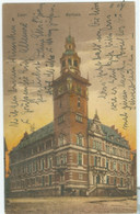 Leer 1925; Rathaus - Gelaufen. (Cramers Kunstanstalt - Dortmund) - Leer