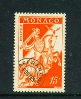 MONACO  -  1954 Precancel 15f Unmounted Never Hinged Mint - Unused Stamps