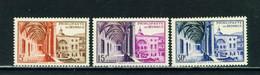 MONACO  -  1952 Postal Museum Set Never Hinged Mint - Unused Stamps
