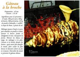 Le Gâteau à La Broche - éditions Debaisieux - Neuve - Recettes (cuisine)