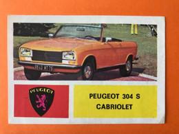 PEUGEOT 304 S CABRIOLET - Vintage Figurine Verzamel Plaatje Cart Carte Image Car Auto Voiture - Album - Auto's