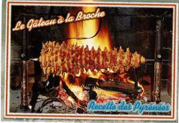 Le Gâteau à La Broche, Titre Pailleté - éditions Doucet - Neuve - Recettes (cuisine)