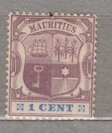 MAURITIUS 1895 1c MH(*) Mi 82 #17351 - Mauritius (...-1967)