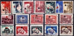 YUGOSLAVIA - BOSNIA MOSTAR PROVISOR. - ERROR OVPT. + PAPER - Used - 1945 - RARE - Used Stamps