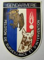 Ecusson  - GENDARMERIE - Peloton De Surveillance Et D'Intervention - Polizei