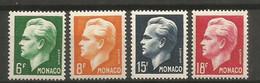 Timbre Monaco  En Neuf **  N 365 / 368 Séries Compléte - Unused Stamps