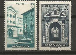 Timbre Monaco  En Neuf **  N 369/370 - Unused Stamps