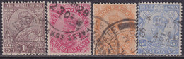 INDIA 1922 SG #197-200 Compl.set Used - 1911-35 King George V