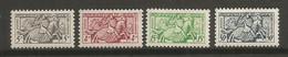 Timbre Monaco  En Neuf **  N 371/375 Manque  Le N 371 Le Reste C 'est Complet - Unused Stamps