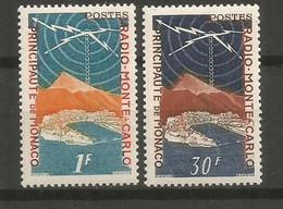 Timbre Monaco  En Neuf **  N 376 Et N 378 - Unused Stamps