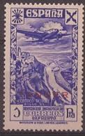 TA21-A407TESCOLMA.Maroc.Marocco.H Istoria Del Correo.TANGER ESPAÑOLAvion..BENEFICENCI A 1943.(Ed 21**) Sin Charnela.LUJO - Spanish Morocco