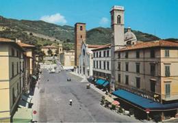PIETRASANTA - LUCCA - PIAZZA DUOMO - BAR MICHELANGELO CON INSEGNA PUBBLICITARIA BIRRA WUHRER - 1986 - Lucca