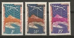 Timbre Monaco  En Neuf *  N 376/378 - Unused Stamps