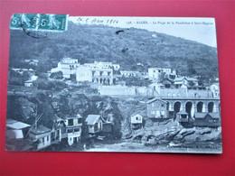 ALGER  -  La Plage De La Poudriere à Saint Eugene -  En 1914 - TBE - Alger