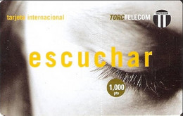 TORC : SPA005 1000pta TORC ESCUCHAR USED Exp: 05/2000 - Otros