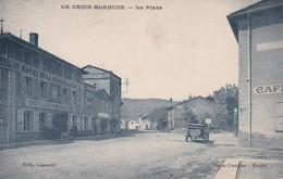 [47] Lot Et Garonne La Croix Blanche La Place Et L'hôtel De La Croix Blanche Plan Rechercher - Other Municipalities
