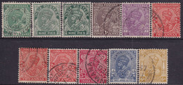 INDIA 1932-36 SG #232-39 Compl.set Used Incl. All Printing Vars - 1911-35 King George V