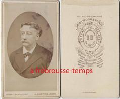 CDV Vers 1888 Par Carjat-portrait D'homme - Old (before 1900)