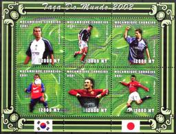 {M51} Mozambique 2001 Soccer Football World Cup Korea - Japan (5) Sheet Of 6 MNH** - Mosambik