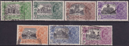 INDIA 1935 SG #240-46 Compl.set Used Silver Jubilee - 1911-35 King George V