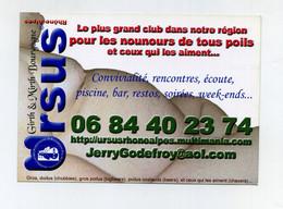 Flyer La Ruche Le Bar Gay Incontournable De Lyon. Ursus. Nounours De Tous Poils. Convivialité, Rencontres, Sauna, Bar... - Advertising