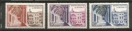 Timbre Monaco  En Neuf **  N 383/385 - Unused Stamps