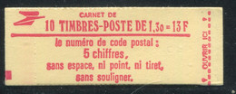 FRANCE - CARNET N° 2059 -C 2  - CONF. 7 -  * *  - COMPLET FERME & LUXE - Definitives