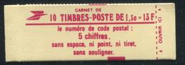 FRANCE - CARNET N° 2059 -C 3  - CONF. 9 -  * *  - COMPLET FERME & LUXE - Definitives
