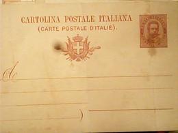 INTERO REGNO UMBERTO I 10 C. BIGOLA MILL 93 VG IN BUSTA 1894 HX3442 - Stamped Stationery