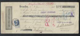 Document Gefrankeerd Met Nr. 76 En Met PERFIN / PERFO  ; Staat Zie 3 Scans  !   LOT 360 - 1905 Thick Beard