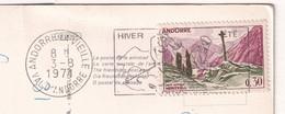 Meritxell  0,30 Stamp Of Andorra 1971 On Postcard - Cartas