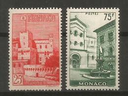 Timbre Monaco  En Neuf **  N 397/398 - Unused Stamps