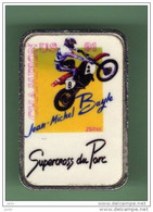MOTO *** SUPERCROSS DU PARC - JM BAYLE CHAMPION *** 1076 - Motorfietsen
