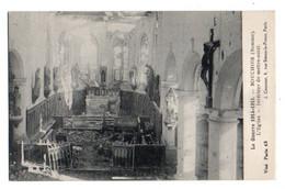(Guerre De 1914) 188, La Somme, Bouchoir, Courcier, L'Eglise, Intérieur Du Maitre-autel - Andere Gemeenten