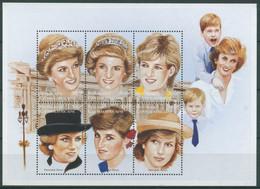 Zentralafrikanische Republik 1997 Prinzessin Diana 1829/34 K Postfrisch (C28483) - Central African Republic