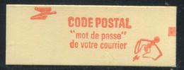 FRANCE - CARNET N° 2102 -C 1  -  * *  - CD DU 6.  29/8/80 - COMPLET FERME & LUXE - Definitives