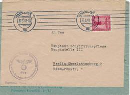 Dienst NSDAP Gau Süd-Hannover Braunschweig 1942 > Hauptamt Schrifttumspflege III Bismarck-Strasse Berlin - Officials