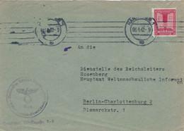 Dienst NSDAP Gau Süd-Hannover Braunschweig 1942 > Dienststelle Reichsleiter Rosenberg Bismarck-Strasse Berlin - Officials