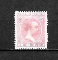 LOTE 2173 /// CUBA 1890 EDIFIL Nº: 110 *MH // CATALOG/COTE: 12,30€ ¡¡¡ OFERTA - LIQUIDATION - JE LIQUIDE !!! - Cuba (1874-1898)