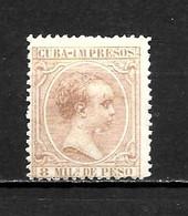 LOTE 2173 /// CUBA 1890 EDIFIL Nº: 111 *MH // CATALOG/COTE: 12,30€ ¡¡¡ OFERTA - LIQUIDATION - JE LIQUIDE !!! - Cuba (1874-1898)