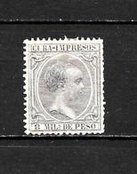 LOTE 2173 /// CUBA 1891 EDIFIL Nº: 123 *MH // CATALOG/COTE: 12,10€ ¡¡¡ OFERTA - LIQUIDATION - JE LIQUIDE !!! - Cuba (1874-1898)