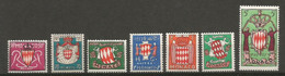 Timbre Monaco  En Neuf **  N 405/411 Séries Compléte - Unused Stamps
